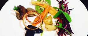 Plat Legumes Gourmand Restaurant Le Xii de Luynes, a proximite de Tours, Chateaux en Touraine, Loire Valley, France