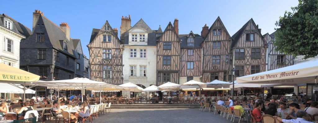 Place Plumereau - Tours, near Le Xii de Luynes, Loire Valley, France