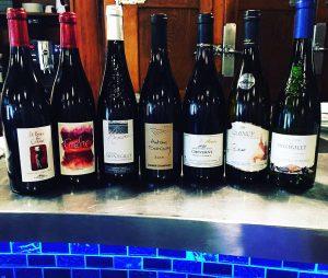 Les Vins de Loire au Restaurant Le 12 de Luynes, proche Tours, Chateaux Touraine, Loire Valley, France