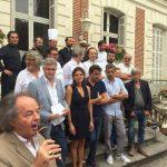 La Foret des Livres, Yoann Bourdais, Restaurant Le XII-Douze de Luynes, près de Tours en Touraine, Loire Valley
