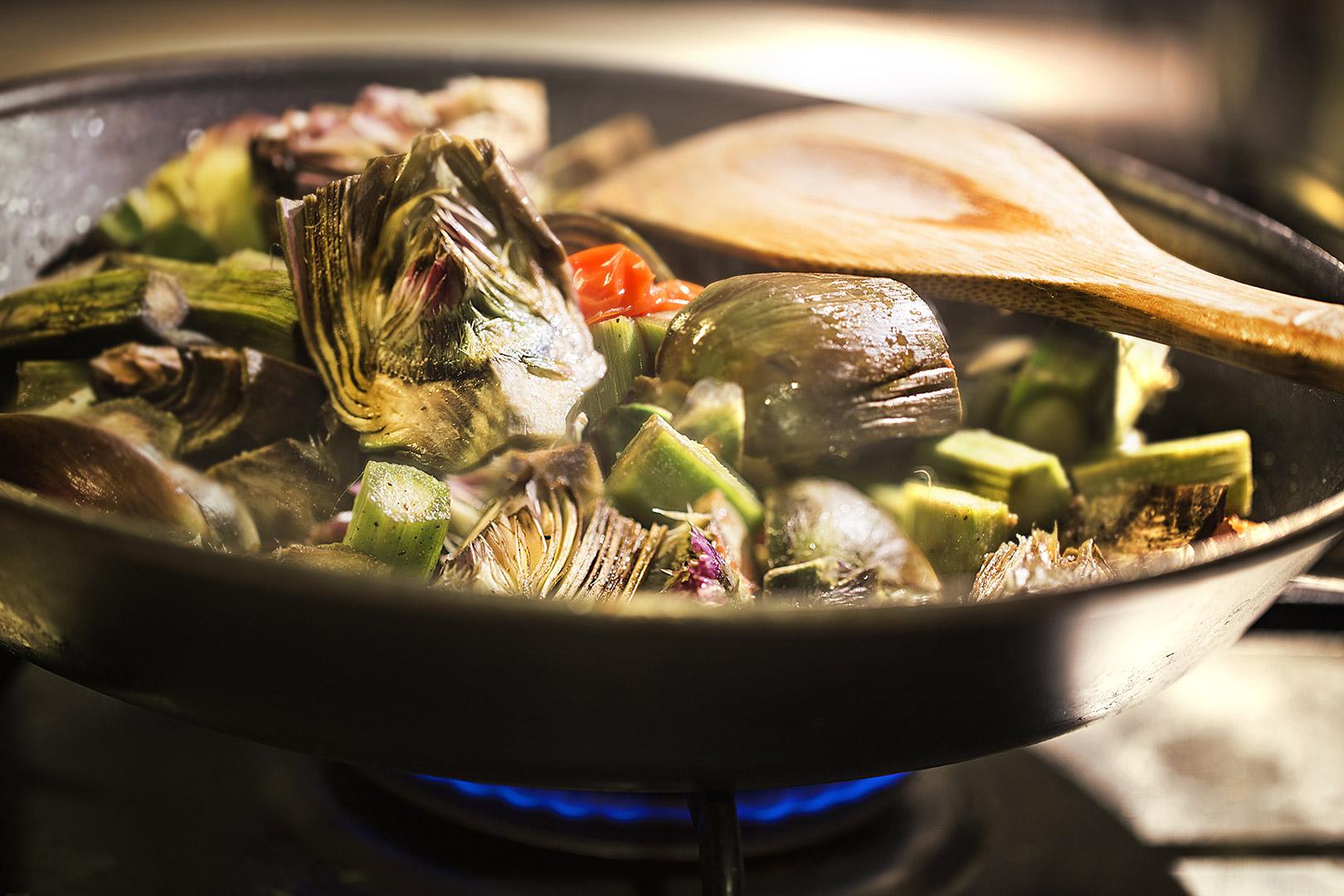 Plat Vegetarien Restaurant Gourmet Le XII - Douze de Luynes, pres de Tours en Touraine, Loire Valley