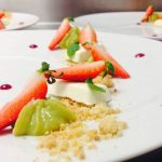 Fraises de Loire, Restaurant Le XII-Douze de Luynes, Loire Valley, Touraine