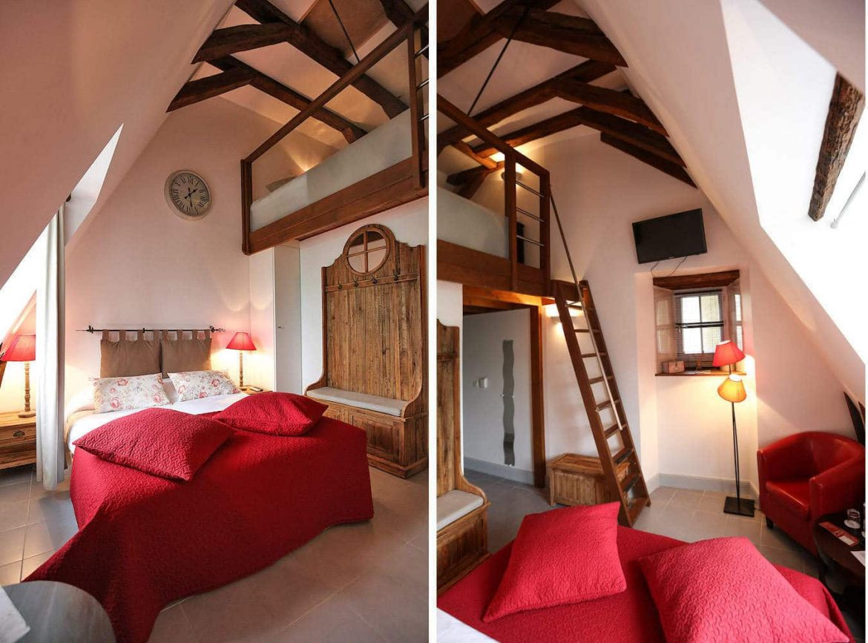 Chambre Familiale, Hotel de Charme, Le XII-Douze de Luynes, près de Tours, Loire Valley