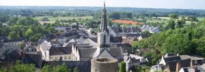 Luynes Village Medieval en Touraine, Loire Valley, pres de Tours, France