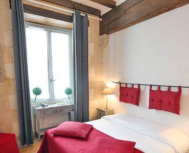Chambre classique, Hotel de Charme pres de Tours, Loire Valley, Touraine